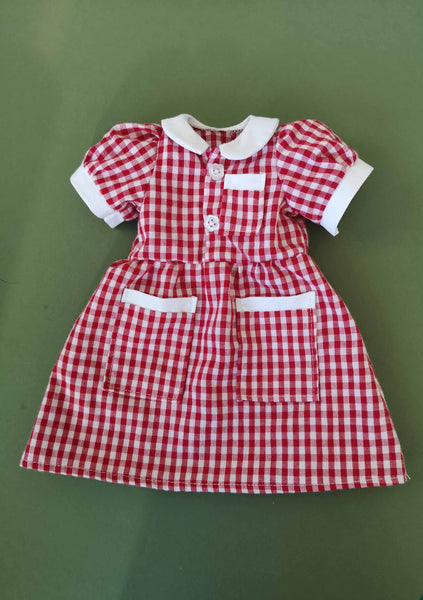 *DOWNLOAD* Sewing a Rag Doll Primary School Uniform Outfit - Pattern and Instructions - to fit our 54cm Rag Doll - Alice's Bear Shop