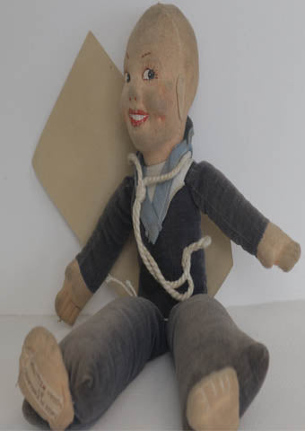 1940's Norah Wellings Sailor Boy - Alice's Bear Shop