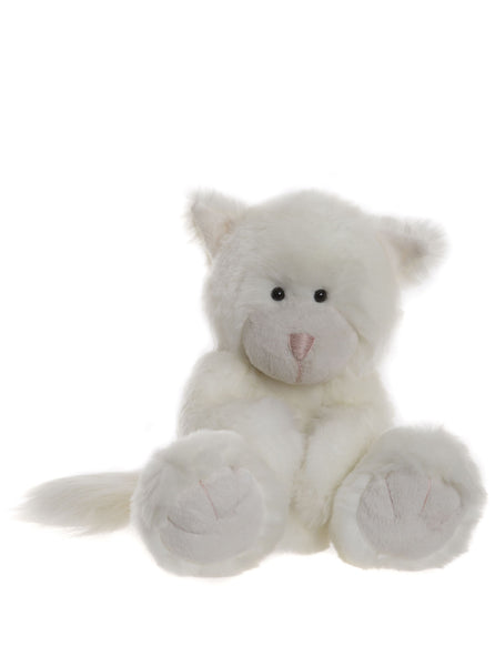 Snowie the Cat - Alice's Bear Shop by Charlie Bears - Alice's Bear Shop