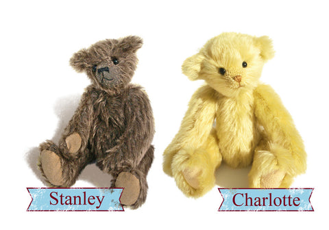 Day Long -  Mohair, jointed Teddy Bear Making Workshop - Deposit £30 - Total cost £125 - Alice's Bear Shop
