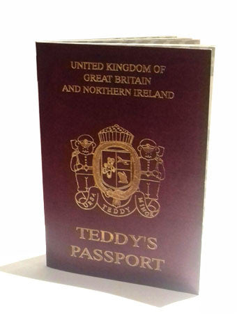 Teddy Bear Passport - Alice's Bear Shop