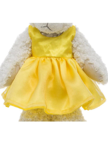 Tilly Yellow Dress Outfit - Alices Bear Shop by Charlie Bears - Alice's Bear Shop