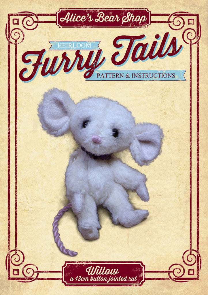 Making Sewing a Cute Rat Pattern and Instructions Download Crafting Crafts