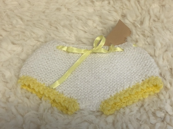 Hand Knitted Knickers For Teddy Bear and Dolls