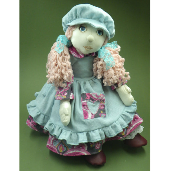 Sewing a Traditional Dress Outfit - Pattern and Instructions Download - to fit 54cm Rag Doll - Alice's Bear Shop