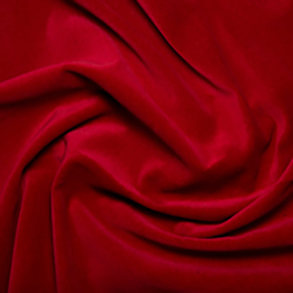 Wine Cotton Velvet -1 Metre