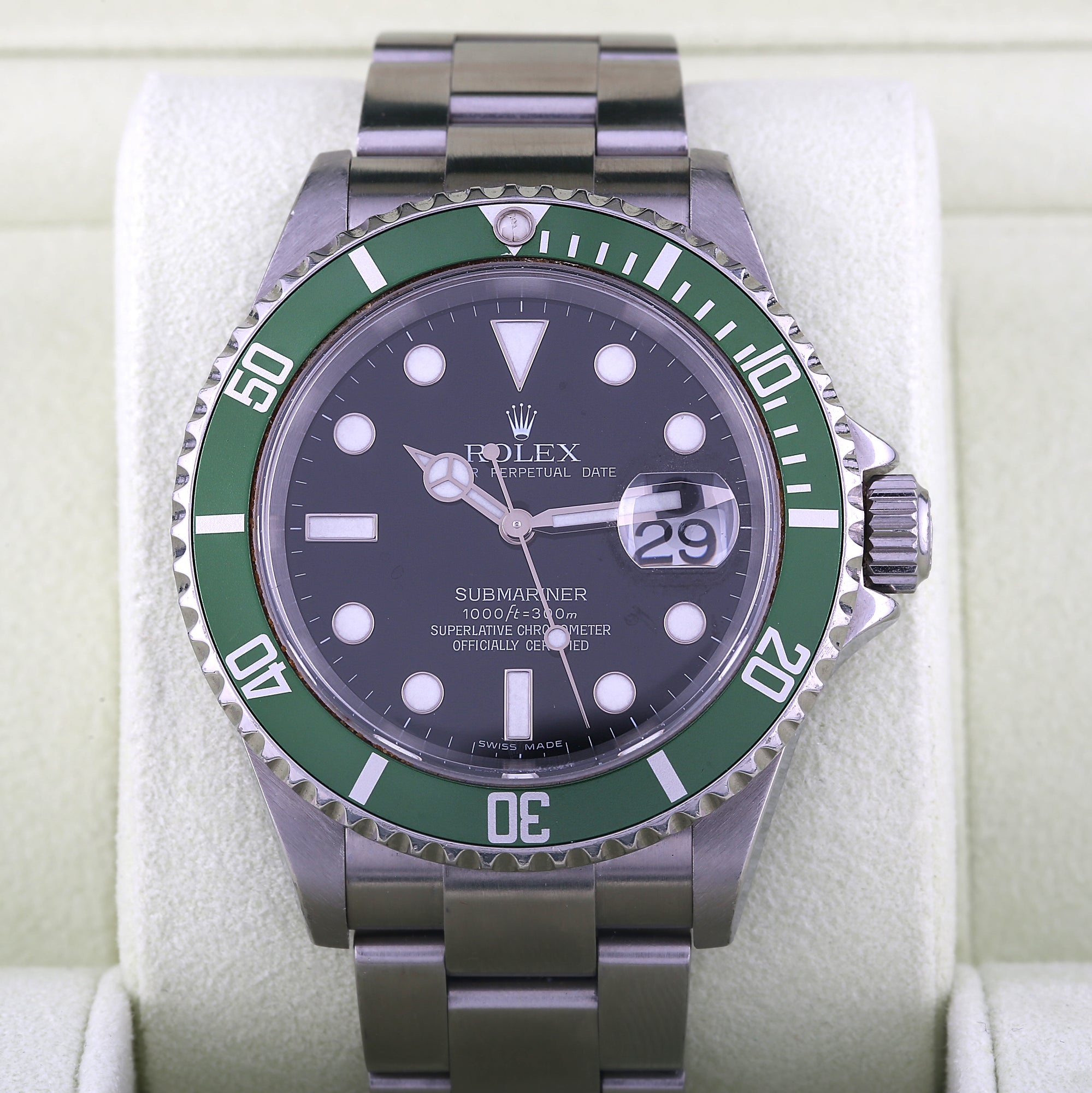 watches submariner sons non davison rolex platinum sub steel jewellers side date g