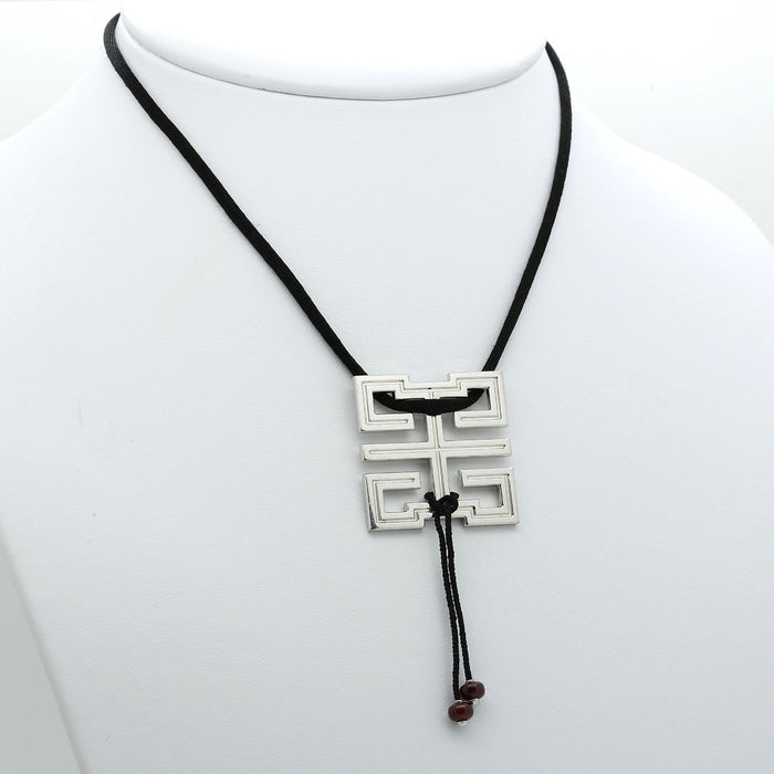 Cartier Le Baiser du Dragon Necklace in 18k White Gold & Ruby. In Box. - Terrafinejewelry