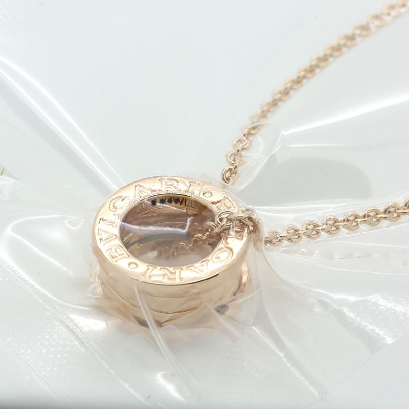 18k rose gold Bulgari Bzero 1 necklace pendant with box and serviced by Bvgari - Terrafinejewelry