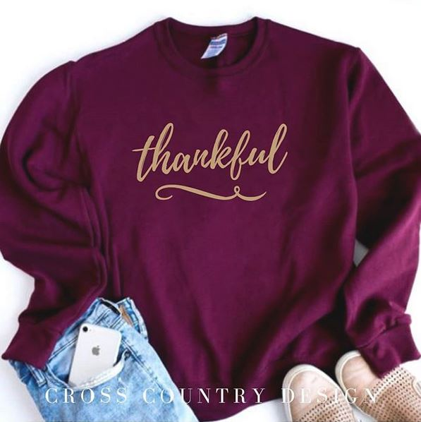 Thankful Fall Sweatshirt