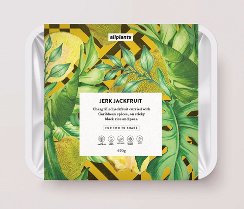All Plants Jerk Jackfruit