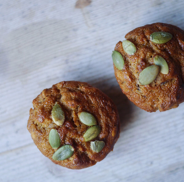 Carrot & Oat Muffins