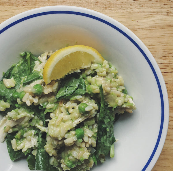 Chicken & Pea Risotto