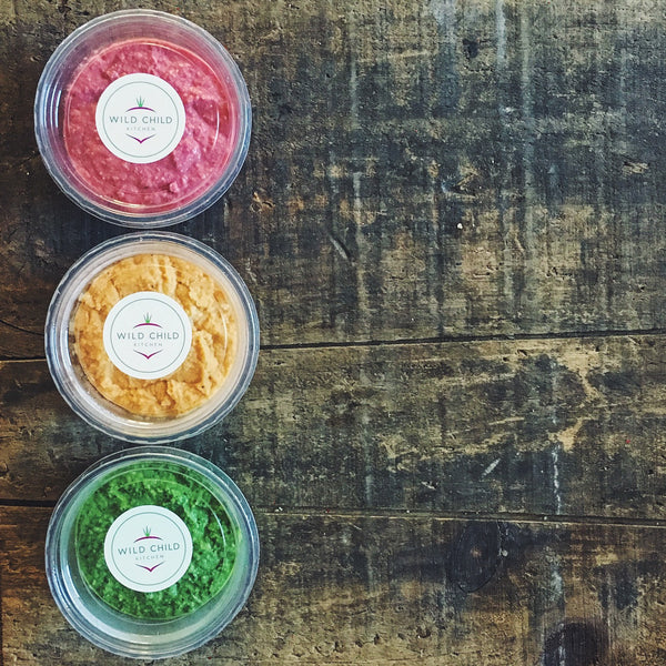 Wild Child Kitchen Traffic Light Hummus