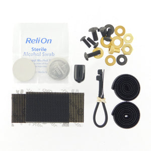 Velcro/Hardware Kit, w/Batteries