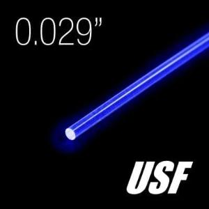 "Fiber, ""Nanoptics"" (USF), .029"" Dia. x 24"", Choose- Color"