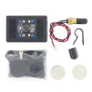 PLDX2 Kit, 1/4-28 Std./High Output Blue SPL, 1/4-28 Tip, Choose- Options