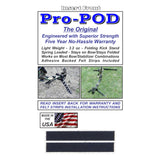 Pro-POD, Black/Green, The Original