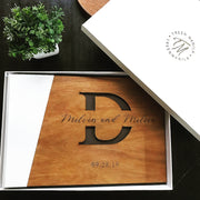 Wooden Guestbook
