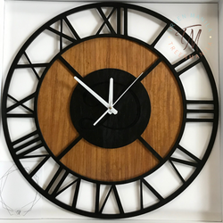 Roman Numeral Clock - Double layer