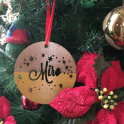Christmas Ornament - Sparkle Design