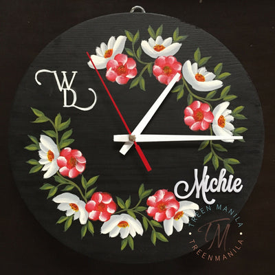 Bella Pallet Clock