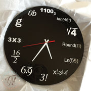Equation Clock
