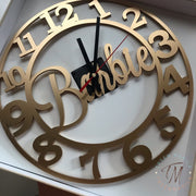 Number Cut Clock