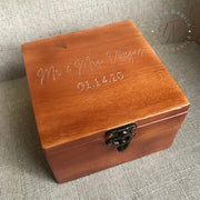 Ring & Arrhae Wooden Box