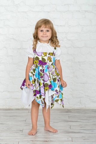 Meadow Floral Girl's Dress