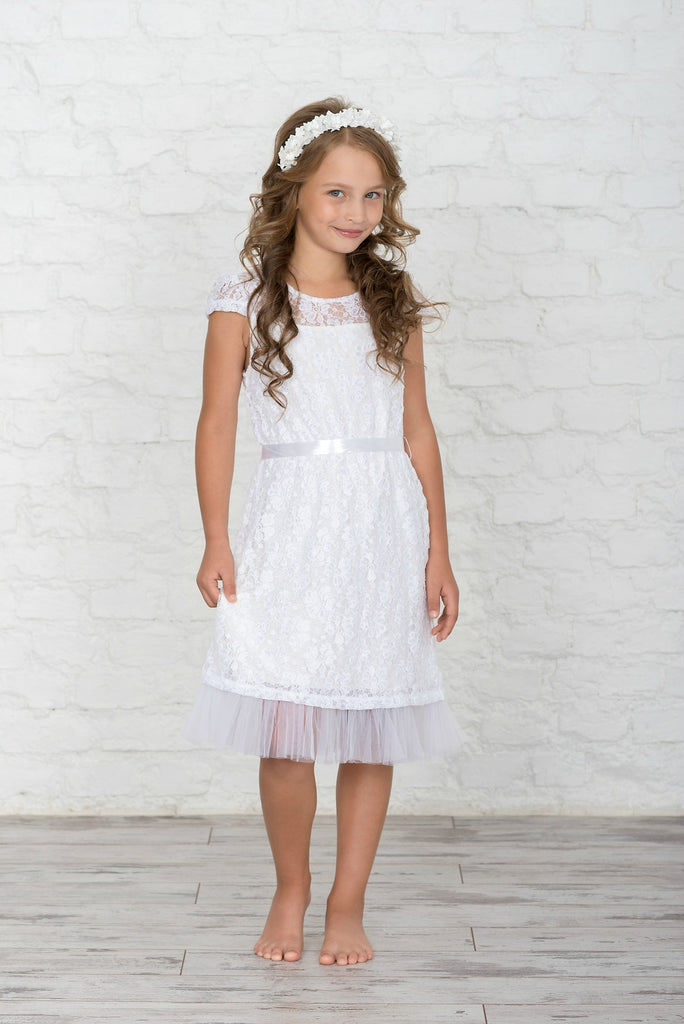 Godiva Girls Lace Dress