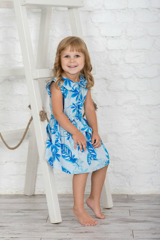 Lavender's Blue Floral Dress