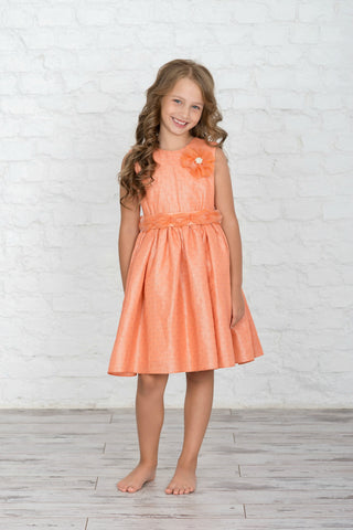 Pretty Saro Flower Girl Dress