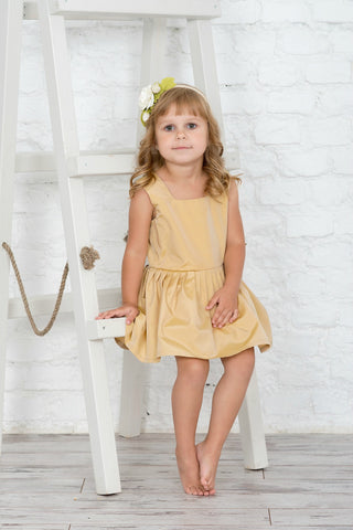 Coastland Dawn Flower Girl Dress