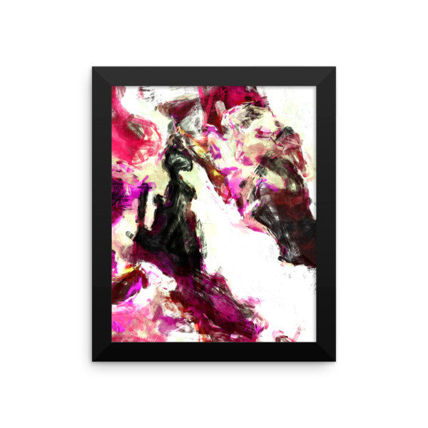 Framed Print - Abstract Panties