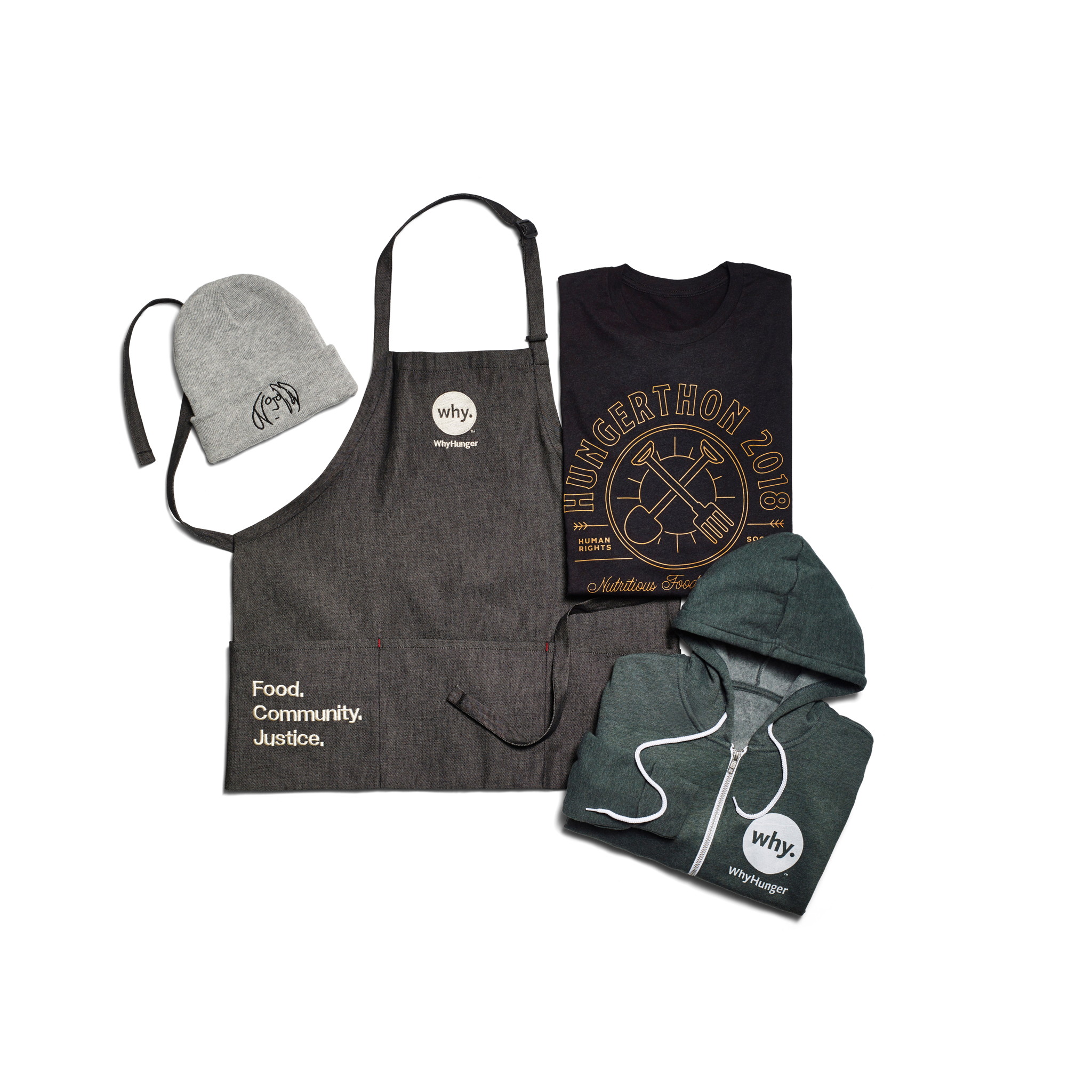2018 WhyHunger Superfan Combo Pack