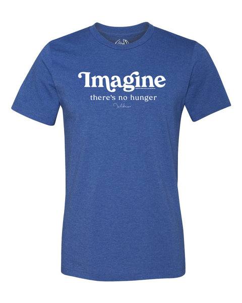 "John Lennon ""Imagine There's No Hunger"" Tee"