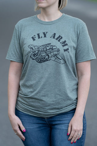 Fly Army Fixed Wing T-Shirt
