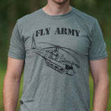 Fly Army Rotary T-Shirt