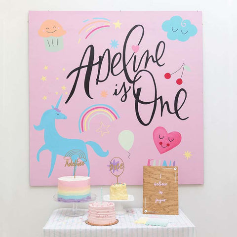 rainbow party, unicorn party, rainbow cake, i believe in sugar, rainbow party sign, unicorn party sign
