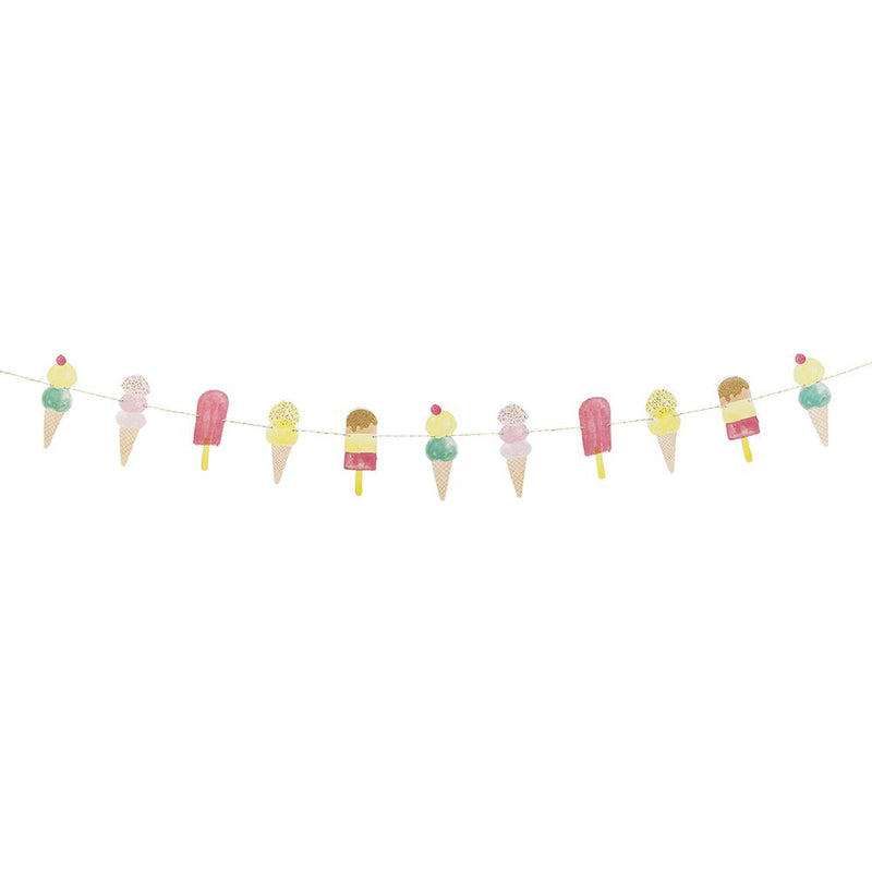 SALE: Ice Cream and Popsicle Party Garland