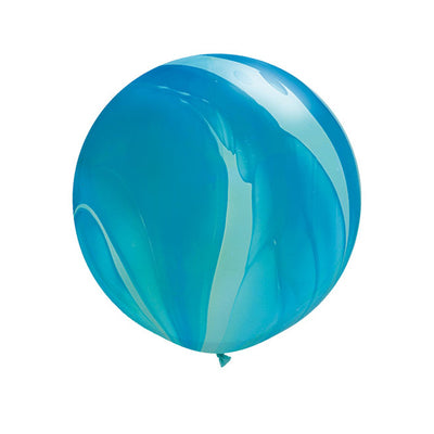 Blue Marble Balloon - Jumbo 30""