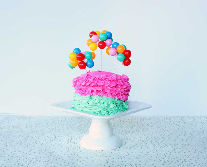 SALE: Balloon Cake Toppers