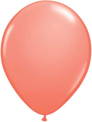 Coral Latex Balloons - 11""