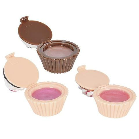 Cupcake Lip Gloss Party Favors