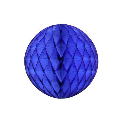 Blue Honeycomb Ball - 5""