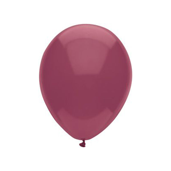 Burgundy Latex Balloon Set - 11""