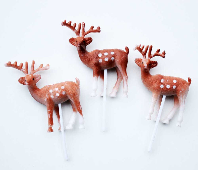 SALE: Deer Cake Toppers - Small