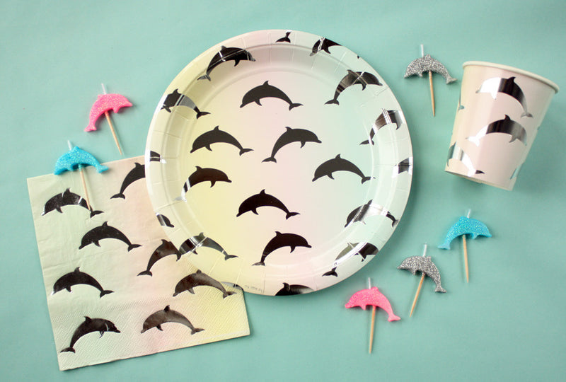Dolphin Paper Cups