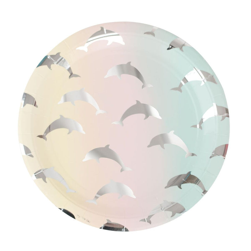 Dolphin Paper Plates